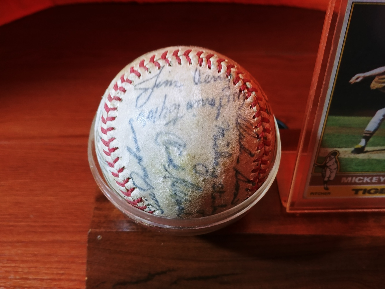 Detroit-Tigers-Al-Kaline-multi-signed-ball-Kaline-Gates-Brown-Willie-Horton thumbnail 3