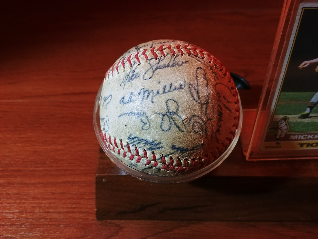 Detroit-Tigers-Al-Kaline-multi-signed-ball-Kaline-Gates-Brown-Willie-Horton thumbnail 5